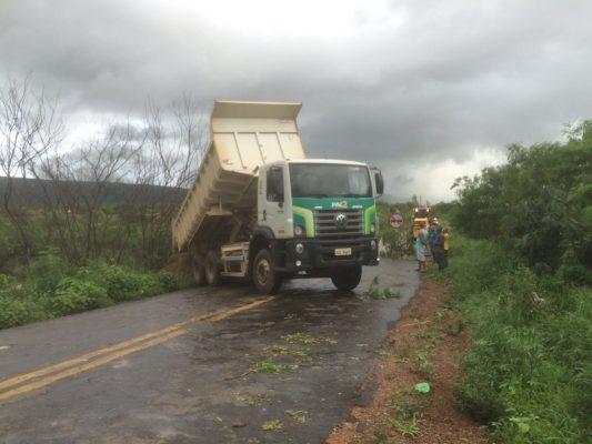 Foi realizado melhorias no local pela prefeitura de Ituaçu para evitar que o problema aumentasse. Foto: Informebarra.com.br