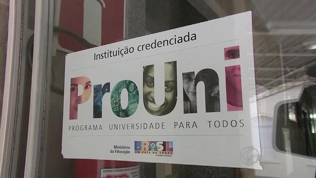 Prouni considera as notas do Enem para conceder bolsas de estudos. (Foto: Reprodução/TV Globo)