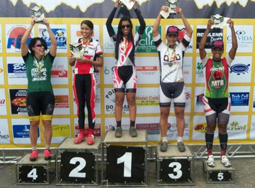 Paulla Gallan foi a 1º colocada em sua categoria.