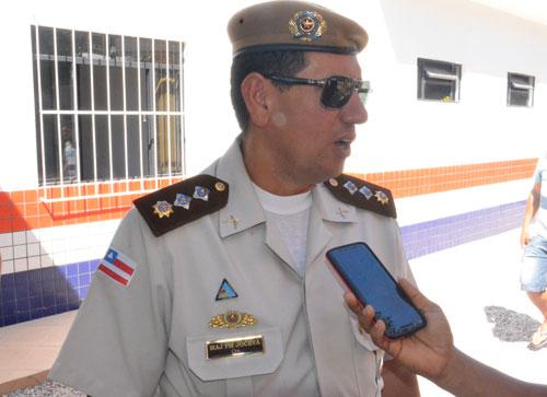 Em entrevista ao Informe Barra o Major Jocevã Oliveira falou sobre as mudanças. Foto: Informebarra.com.br