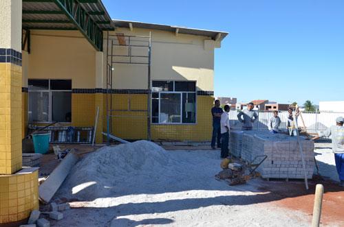 A obra está em fase final. Foto: Informebarra.com.br