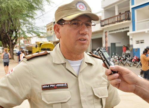 Major Jocevã Oliveira (Foto: Informebarra)