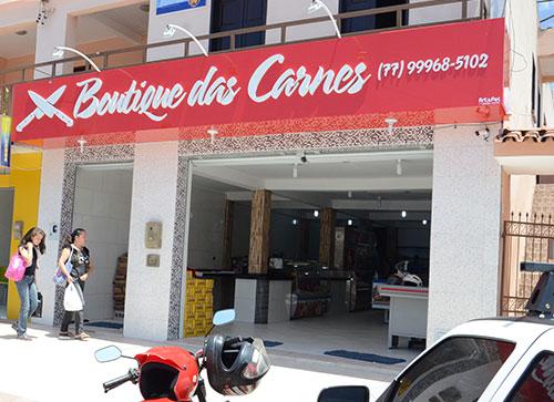 Completo serviço de açougue é na Boutique das Carnes.