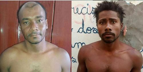 Ambos foram presos pela Polícia Militar, 34ª Cipm.