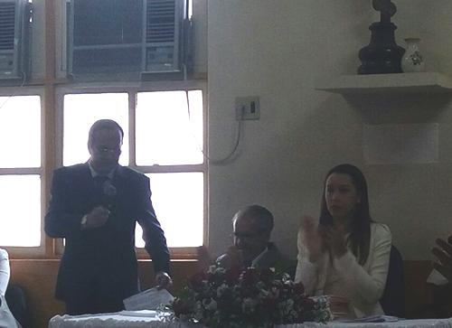O prefeito eleito Adalberto. Foto: Informebarra.com.br