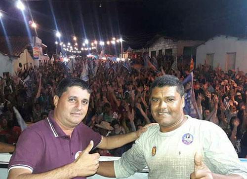 Som Martins foi eleito vice - prefeito com João de Didi nas eleições de 2016