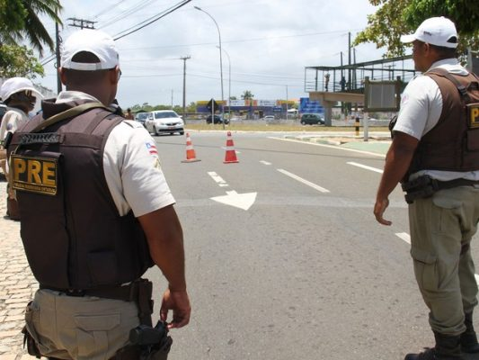 Número de acidentes nas rodovias baianas teve redução no período do natal (Foto: Divulgação/SSP-BA)